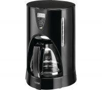 LOGIK LC12DCB17 Filter Coffee Machine - Black, Black