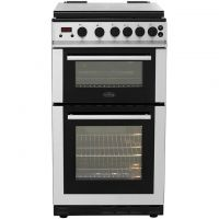 Belling FS50GDOLm Gas Cooker with Variable Gas Grill - Stainless Steel - B/A Rated
