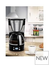 Melitta Melitta Easy Top Timer Black Filter Coffee Machine 1010-15