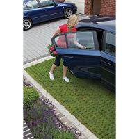Marshalls Grassguard 130 Textured Block Paving - Earth Brown 500 x 300 x 100mm Pack of 64