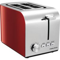 Morphy Richards Equip 222056 2 Slice Toaster - Red