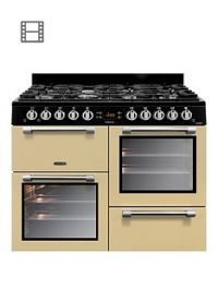 Leisure CK100G232C Cookmaster 100 100cm Gas Range Cooker with optional Connection - Cream
