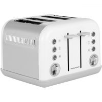 Morphy Richards Accents 242032 4 Slice Toaster - White
