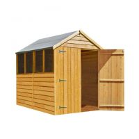 Shire Shire 7' x 5' Overlap Apex Double Door Shed