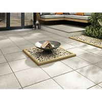 Marshalls Textured Charcoal 450 x 450 x 35 mm Paving Slab