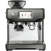 Sage The Barista Touch SES880SHY Bean to Cup Coffee Machine - Smoked Hickory