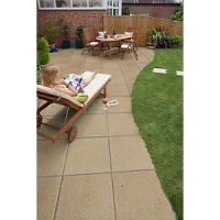 Marshalls Perfecta Smooth Buff 600 x 35mm x 1.2m Paving Slab - Pack of 30