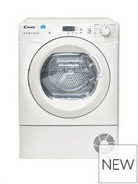 Candy Cs H8A2Le 8Kg Heat Pump, Sensor Tumble Dryer With Smart Touch - White