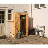 Rowlinson 6 x 3 ft Lean-To Midi Garden Tool Storage Shed