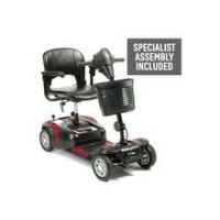 Prism 4 Wheel Mobility Scooter Class 2 - Red