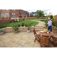 Marshalls Heritage Riven Yorkstone 300 x 300 x 38mm Paving Slab - Pack of 44
