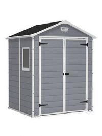 Keter 6 X 5 Ft Manor Resin Shed