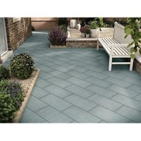 Marshalls Limestone Textured Blue Multi 600 x 300 x 22 mm Paving Slab
