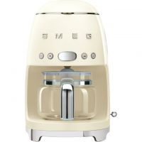 Smeg 50's Retro DCF02CRUK Filter Coffee Machine with Timer - Cream