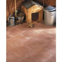 Marshalls Richmond Textured Red 450 x 450 x 32mm Paving Slab - Pack of 60