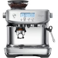 Sage The Barista Pro SES878BSS Espresso Coffee Machine with Integrated Burr Grinder - Brushed Stainless Steel