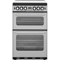 Newworld NW550TSIDOM 55cm Gas Cooker with Electric Grill - Silver - A/A Rated