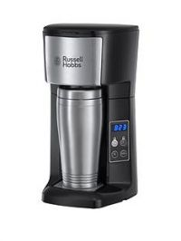 Russell Hobbs 22630 Brew and Go Coffee Machine with Travel Cup with FREE extended guarantee*