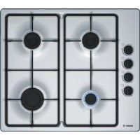 BOSCH PBP6B5B60 Serie 2 58cm Four Burner Gas Hob Stainless Steel