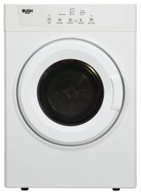 Bush TDV7NBW 7KG Vented Tumble Dryer - White