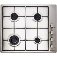 Candy CHW6LX 60cm Gas Hob - Stainless Steel