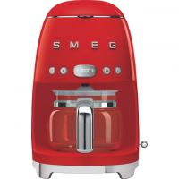 Smeg 50's Retro DCF02RDUK Filter Coffee Machine with Timer - Red