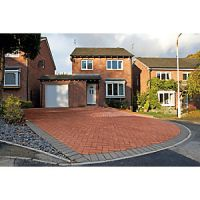 Marshalls Block Paving - Red 200 x 100 x 50mm Pack of 488