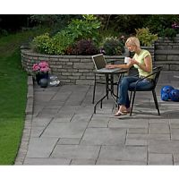 Marshalls Firedstone Dusk Paving Slab Mixed Size - 5 m2 pack