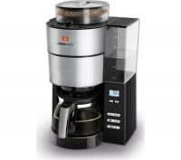 MELLITA AromaFresh Filter Coffee Machine - Black & Stainless Steel, Stainless Steel