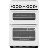 Newworld NW550TSIDOM 55cm Gas Cooker with Electric Grill - White - A/A Rated