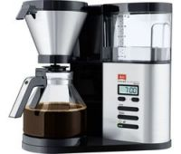MELITTA AromaElegance Deluxe Filter Coffee Machine - Black & Stainless Steel