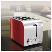 Morphy Richards 222056 Equip 2 Slice Toaster in Red