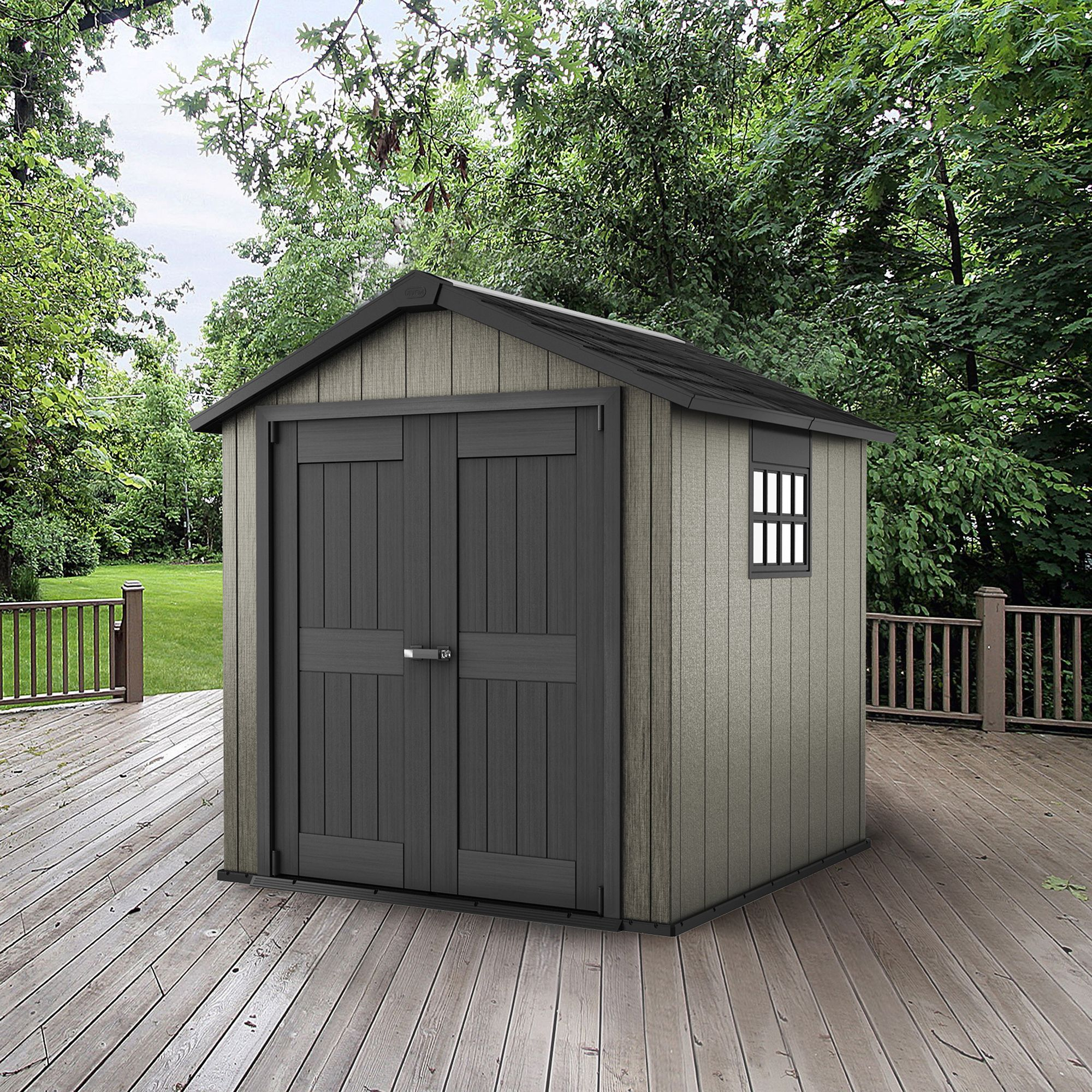 Sheds b q sheds for Outdoor garden shed