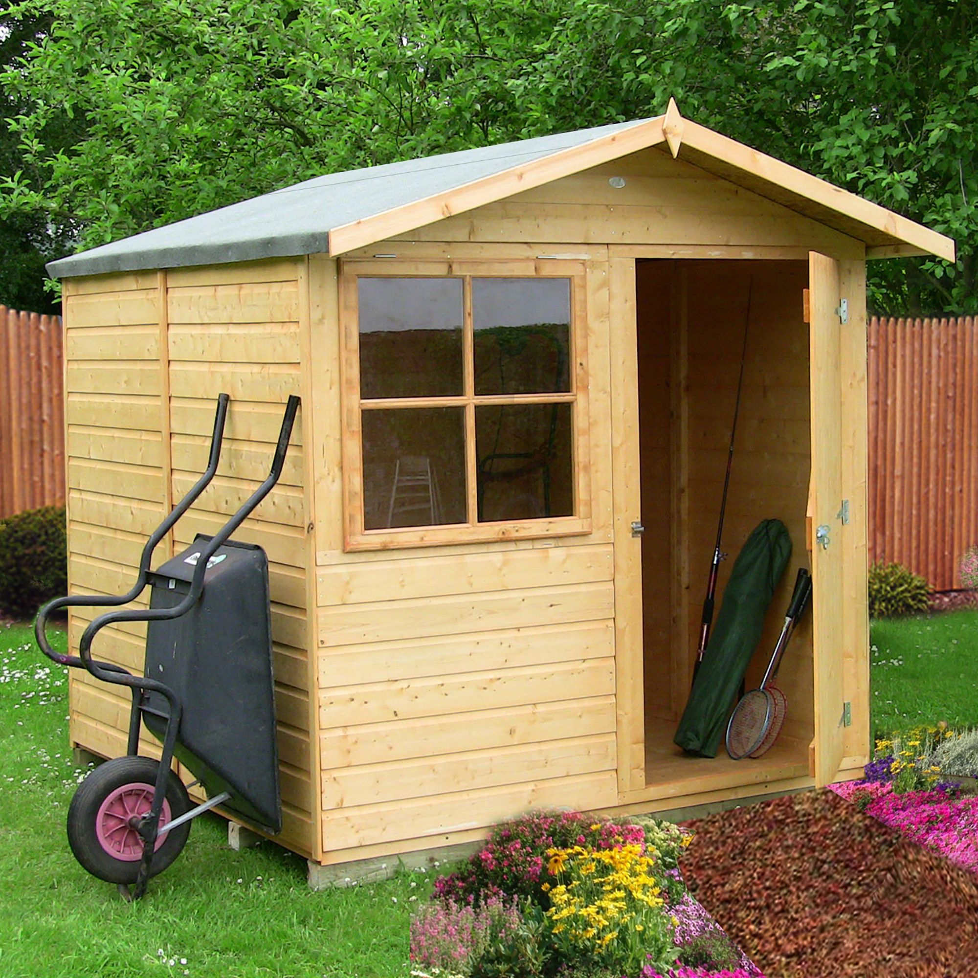 B q sheds wooden metal plastic b and q sheds for Outdoor storage ideas cheap