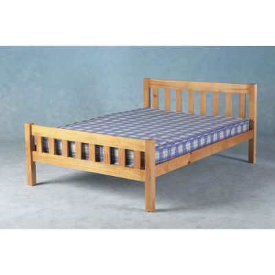 Carlow Double Bed Natural Pine