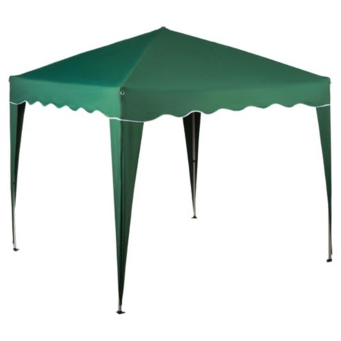 Tesco Polyethylene & Metal Waterproof Gazebo