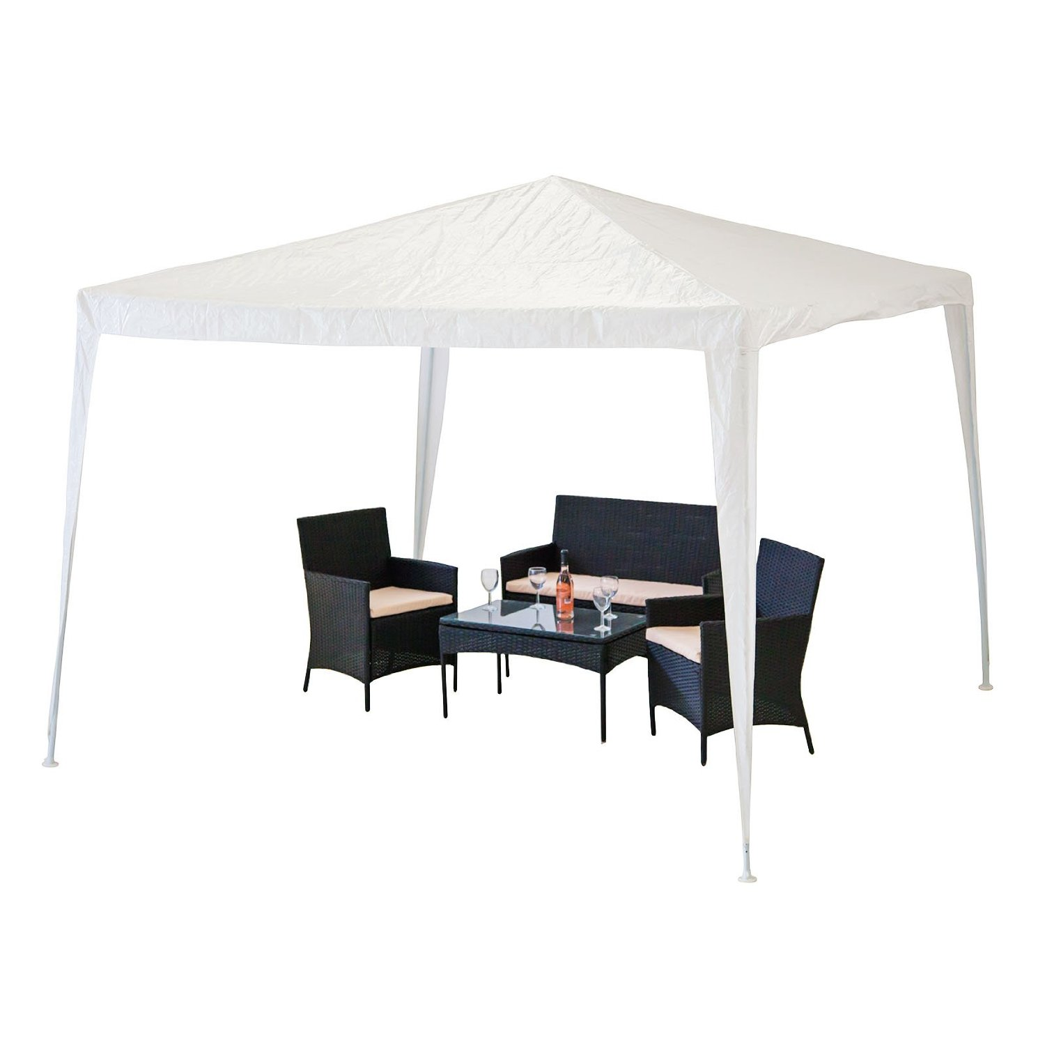 Alfresia Garden Gazebo in White